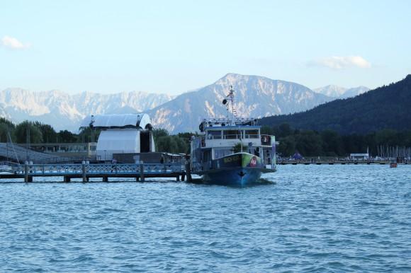 Marienschiffsprozession 2012 - Das Rahmenprogramm an den Anlegestellen.