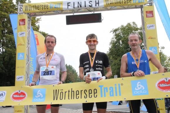 Die Schnellsten Männer 2011 (vlnr): Christian Stork (Platz 2, Thomas Bosnjak (Platz 1), Ralf Schmäding (Platz 3)
