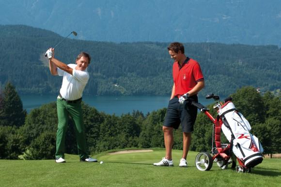 Golflust in Kärnten. Foto: Kärnten Werbung/Gerdl