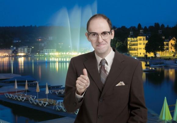 Der Kabarettist vom Wörthersee: Christian Hölbling alias HELFRIED.