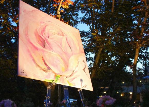 Auch Kunst und Kultur kommen an diesem Sommerabend am Wörthersee nicht zu kurz.