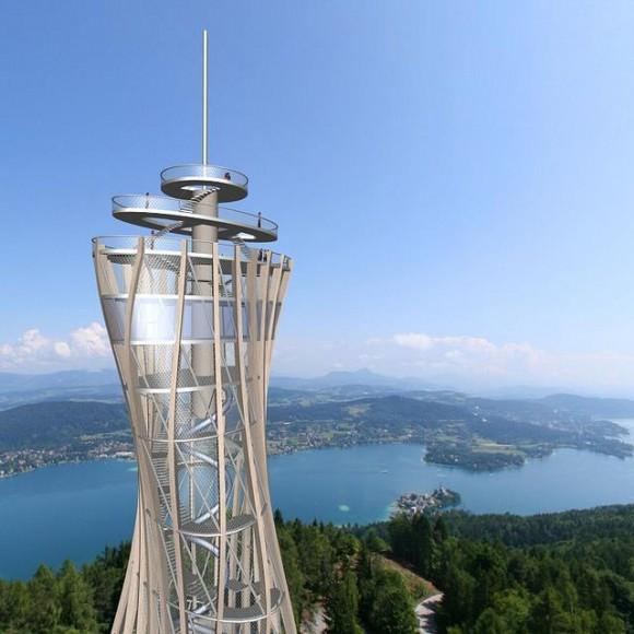 Visualisierung des neuen Turmes!  (© Heimo Kramer)