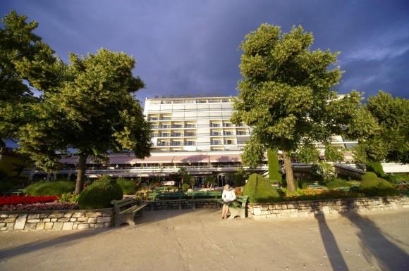 Parkhotel Poertschach Aussenansicht. Foto: Parkhotel/Conventionland Kärnten
