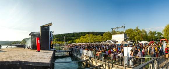 Die Seebühne in Klagenfurt am Wörthersee