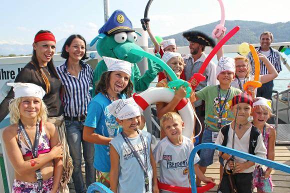 Der Nauti Club der Wörthersee Schifffahrt ist beim Event mit dabei.