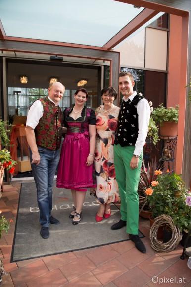 Hotelierfamilie Grossmann.