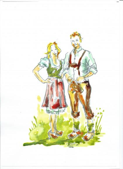Babsi und Klaus. Bild: Dr. Franz Englhofer