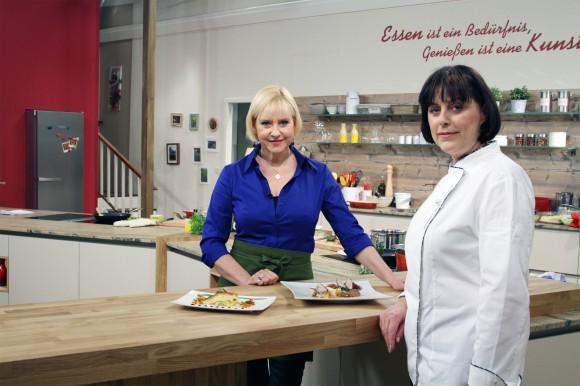 """""""Frisch gekocht"""", Die tägliche Kochshow mit Elisabeth Engstler, diese Woche mit Starköchin Andrea Grossmann . ORF/Interspot/Heinz Leger"""