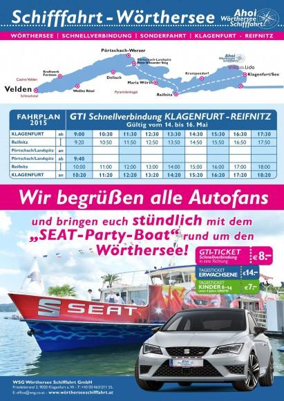 Gti-Fahrplan 2015 ab Klagenfurt