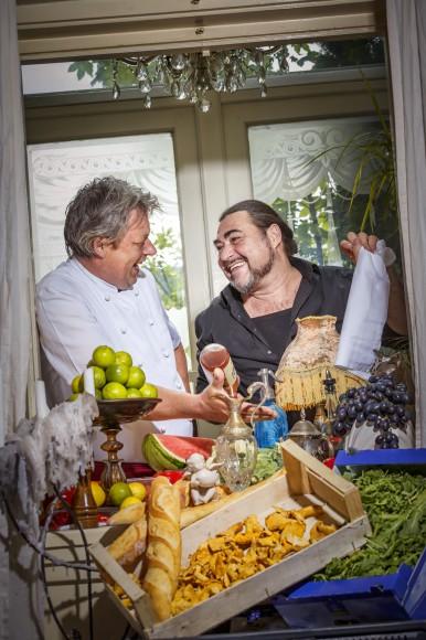 Jürgen Streit und Mischa Bauer. Foto: Tine Steinthaler