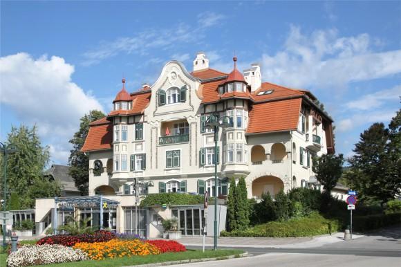 Hotel Kointsch,1909, Karawankenplatz Velden