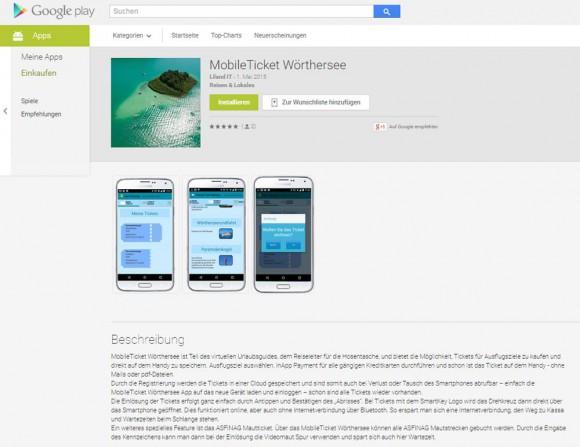 Ab sofort auf Google Play