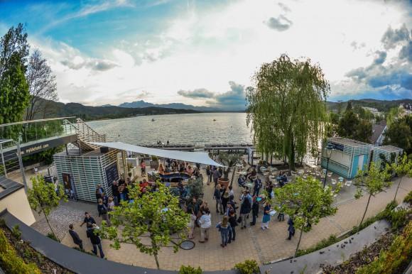 Barny Strasser erobert die Seepromenade mit einer großen Portion Leidenschaft. Foto: Nicolas Zangerle