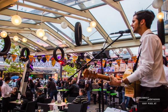 Auf die Besucher wartet Live Musik von Freitag bis Samstag von 19.00 bis 24.00 Uhr. Foto: pixelpoint