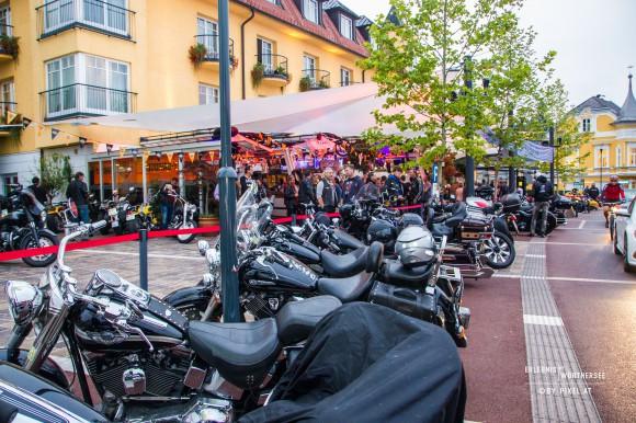 Jede Menge Biker in Velden am Wörthersee. Foto: pixelpoint