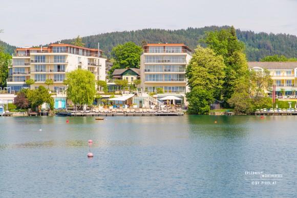 """Das """"passion"""" in der Pörtschacher Bucht. Foto: pixelpoint"""