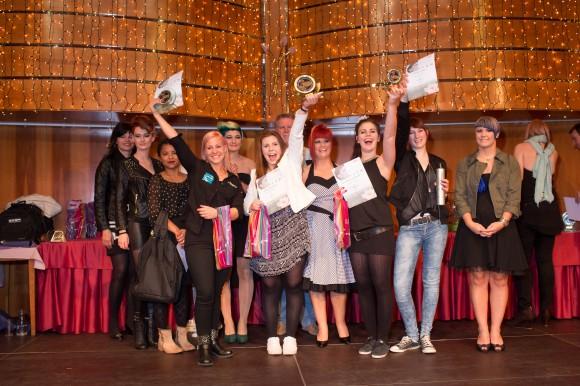 Karriere mit Schere: Schnittige Styles und fetzige Looks bei der 43. Auflage des Kärntner Frisurenwettbewerbs. Foto: Peter Just