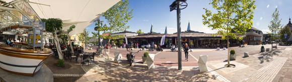 Hier am Casinoplatz in Velden wird sich das  Spektakel abspielen. Foto: pixelpoint