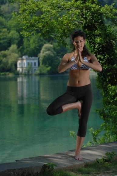 Yoga am See. Foto: Wörthersee/Franz Gerdl