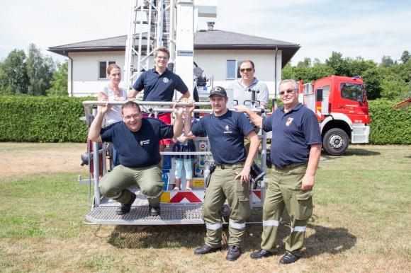 Mit der Beteiligung der Feuerwehren aus Krumpendorf und Verstärkung der FF Ferlach, Wasserrettung und des Samariterbunds gab es vor allem für für die kleinen Besucher allerhand zu erleben.