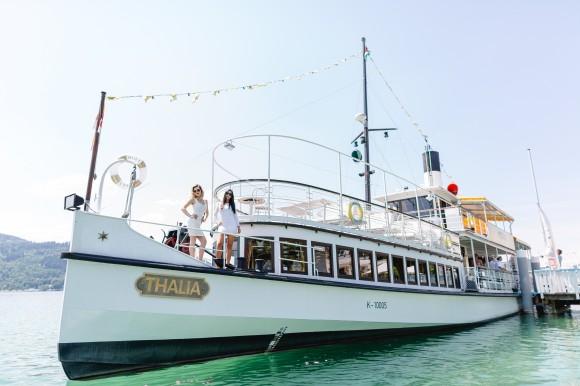 GIG an Bord der Wörthersee Schifffahrt. Fotos: GIG/Tanja und Josef