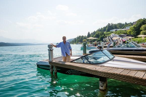 Harald Kollmann bringt Gäste gerne direkt zum Porto Bello. Foto: pixelpoint/Zangerle