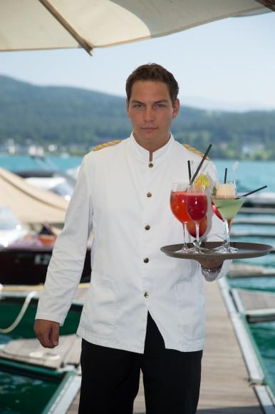Das À la carte See-Restaurant ist speziell im Sommer sehr beliebt. Foto: pixelpoint/Zangerle