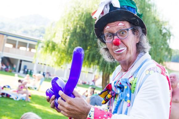 Clown Wuascht beim Maria Wörther Kindersommer, Foto: pixelpoint multimedia