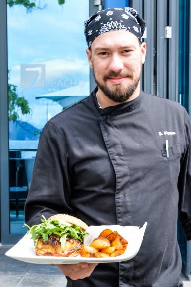 Küchenchef im Jilly Beach ist der gebürtige Berliner Patrick Thimm. Foto: pixelpoint/Zangerle