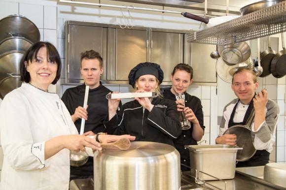 Küchenteam des La Balance. Foto: pixelpoint/Handler