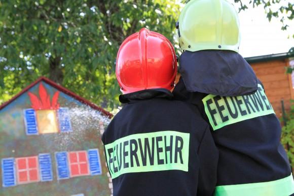 Kinder Feuerwehr-Olympiade in Krumpendorf