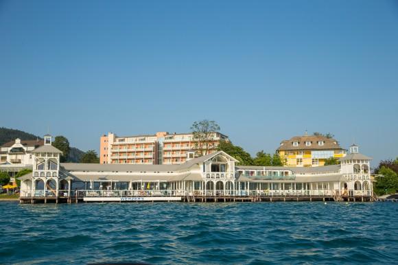 Werzer's Beach Club Restaurant in Pörtschach. Foto: pixelpoint/Zangerle