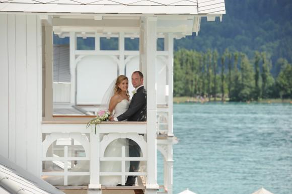 Hochzeitsfeier in Werzer's Beach Club