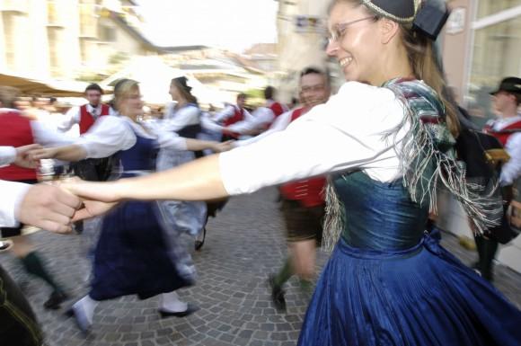 Beschwingtes Brauchtum. Foto: Verein Villacher Kirchtag