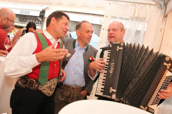 Mittendrin: Kirchtagsverein-Obmann Richard Pfeiler