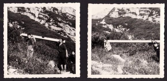 Mittagskogel Gipfelkreuz 1964