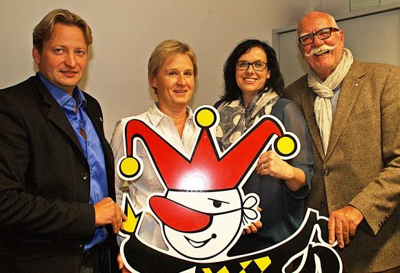 Der neue Vorstand vlnr.: Andreas Majoran, Andrea Rothmayer, Manuela Ofner, Gernot Bartl
